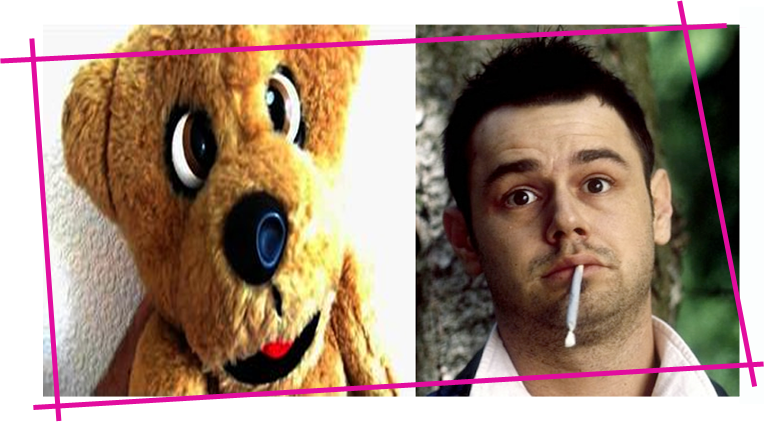 Spot the difference... Nookie Bear and Danny Dyer